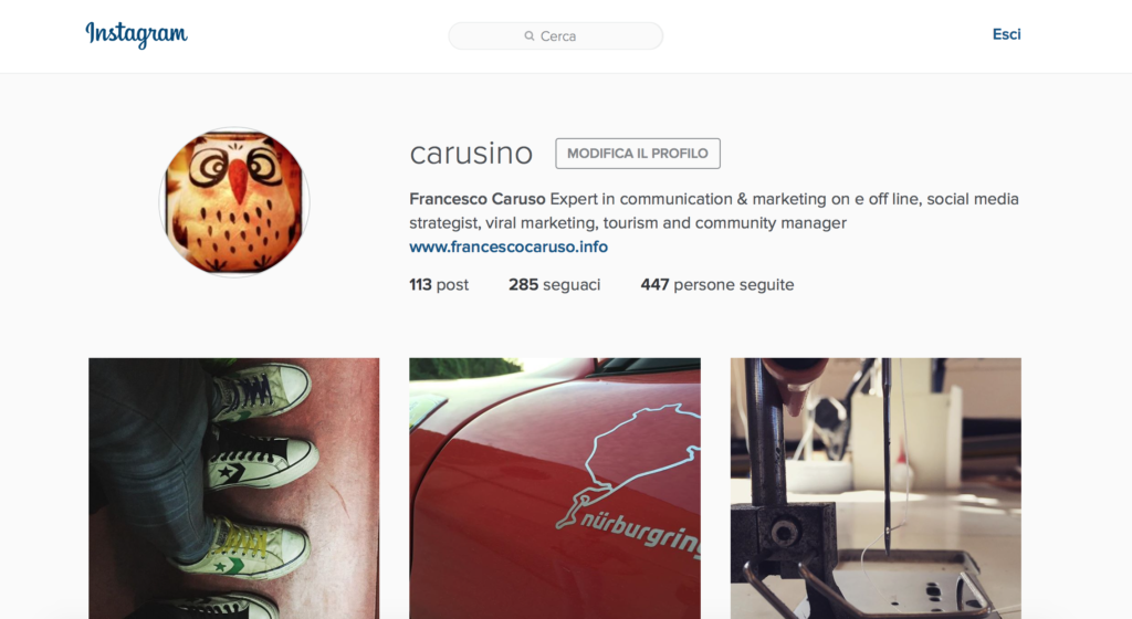 come utilizzare instagram da pc e mac
