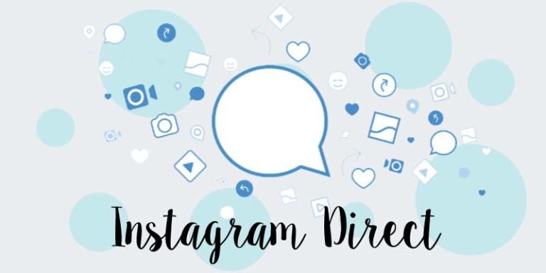 messaggi privati con instagram direct
