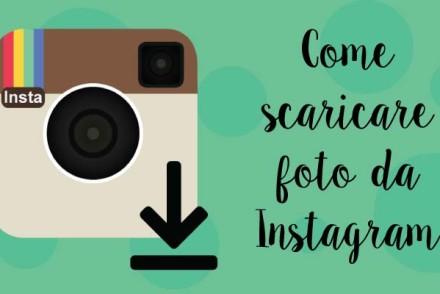 Come salvare foto da Instagram