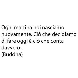 frasi buongiorno buddha