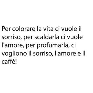 amore, caffe e buongiorno