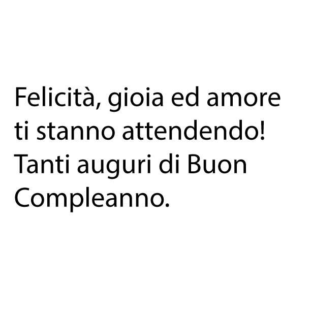 Très Frasi di buon compleanno per Instagram CV47