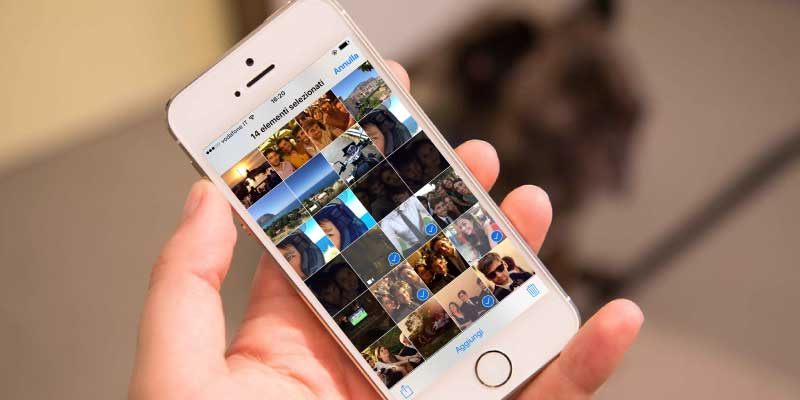 Eliminare le foto su iPhone, iPad e iPod touch - Supporto ...