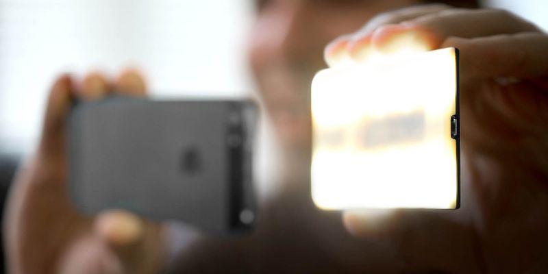 flash portatile per smartphone