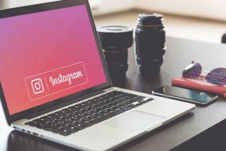postare una foto su instagram da pc