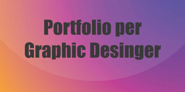 portfolio per graphic designer