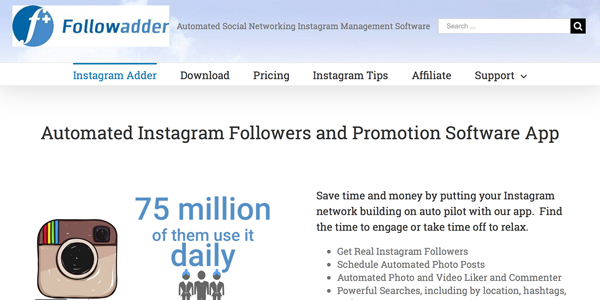 Instagram Bot FollowAdder