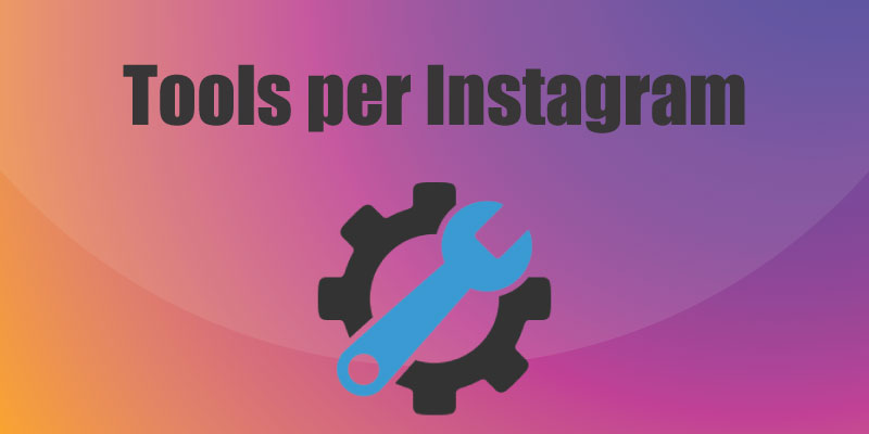 Tools per Instagram