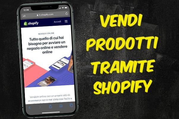 Vendi su Shopify con Instagram