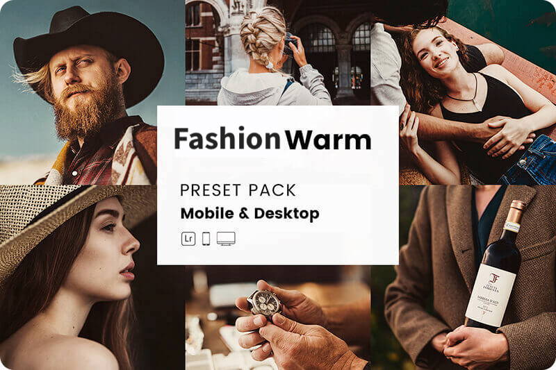 Preset Instagram Fashion Warm